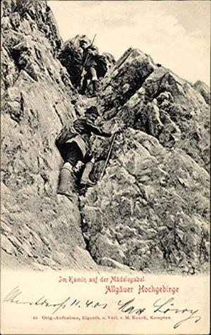 Haferlschuhe im Allgäuer Hochgebirge