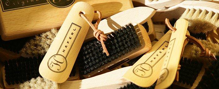 Werkzeuge zur Schuhpflege